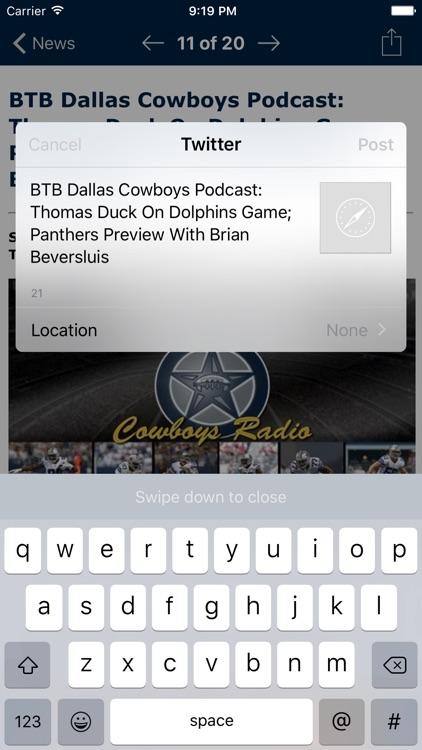 Football News - Dallas Cowboys screenshot-3