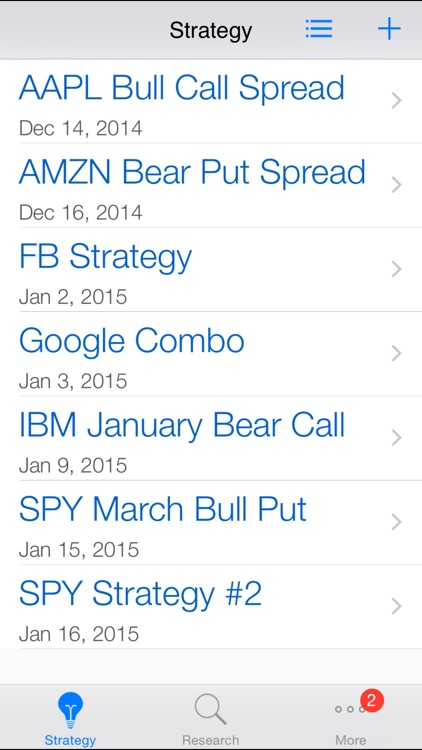 Vertical spread options trading screenshot-4