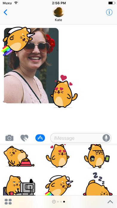 Nugget Cat Sticker Pack