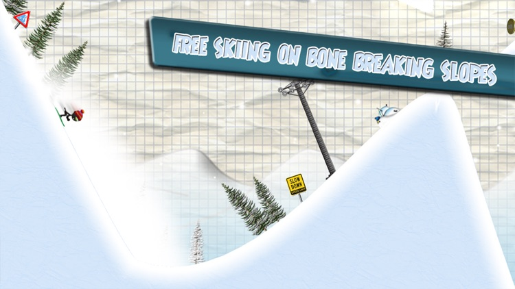 Stickman Ski Racer