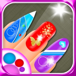 Fashion Nail Salon Beauty Makeover - Create and Design Nails Art with Trendy Games for Girls