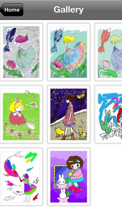 Coloring Doodle Pad screenshot-4