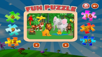 Zoo Animals Jigsaw - Puzzle Box Learning For Kid Toddler and Preschool Games screenshot four