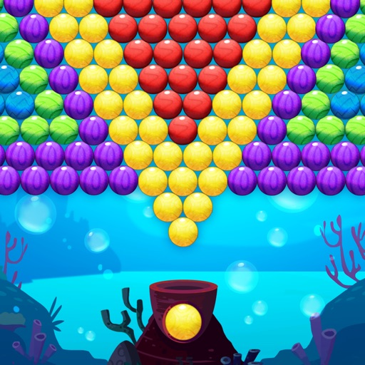 Bubble Shooter Underwater World icon