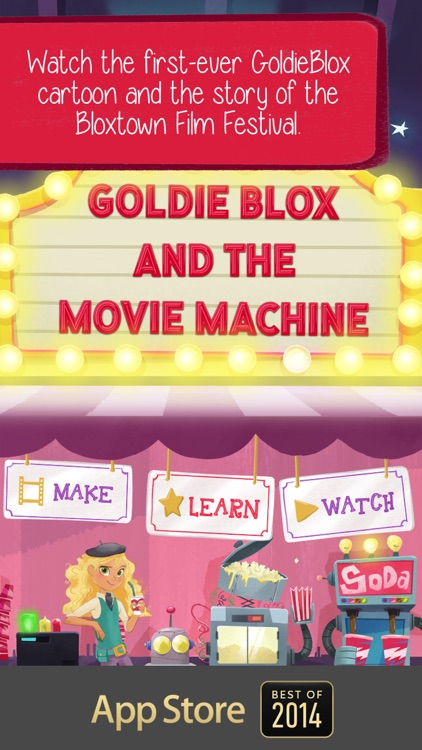 GoldieBlox and the Movie Machine screenshot-0