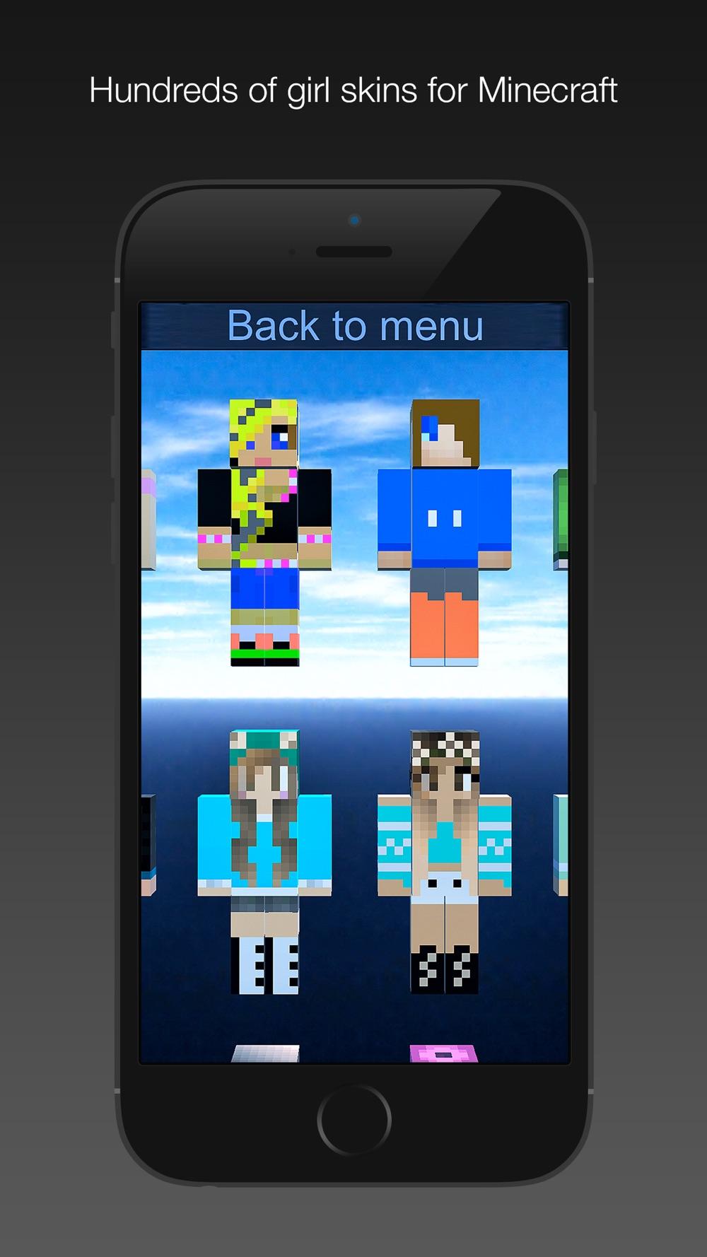 Girl Skins for Minecraft MC PE Cheat Codes