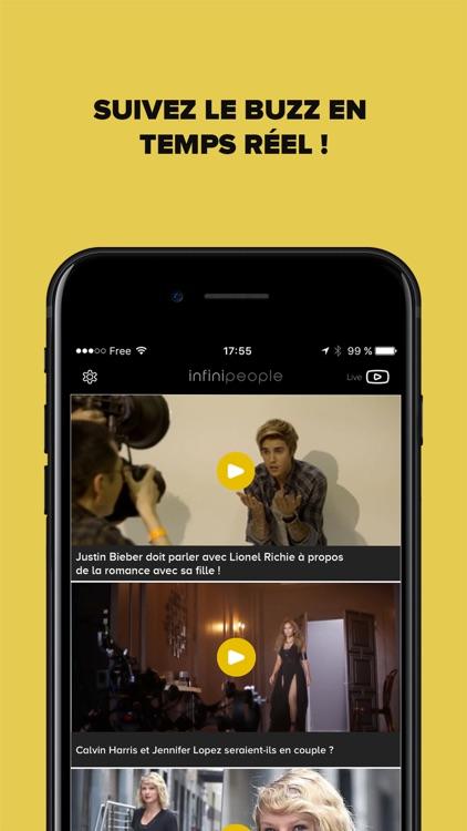Infini People - actu des stars en vidéos