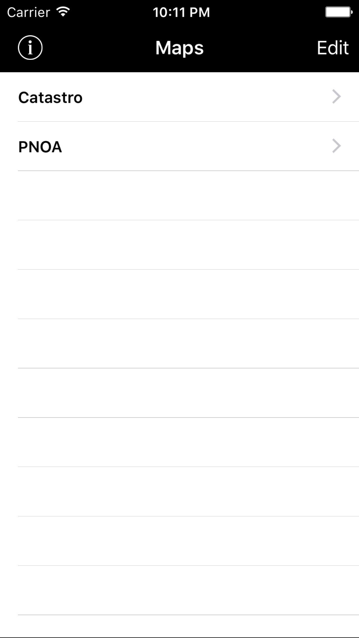 ApliCAD WMS Screenshot