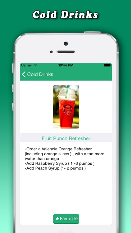 Secret Menu for Starbucks Free screenshot-4
