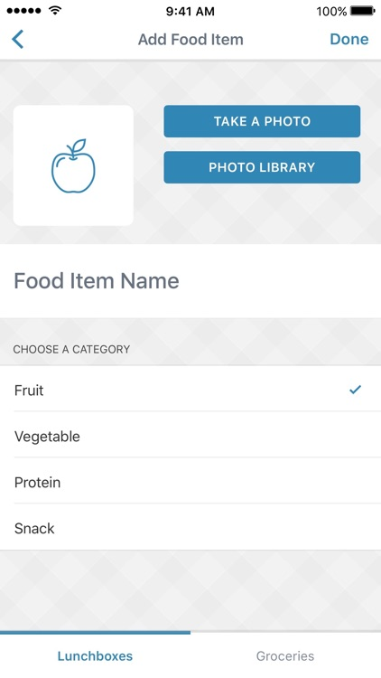 LaLa Lunchbox: meal planning for kids screenshot-3