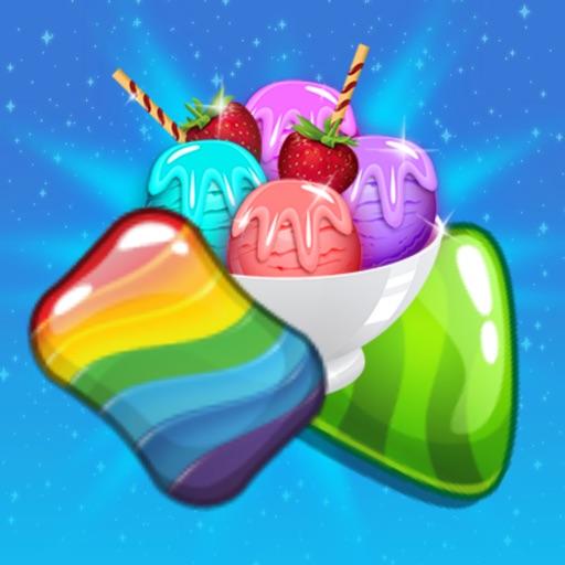 Ice Cream Paradise :Sweet Match3 Puzzle Free Games iOS App