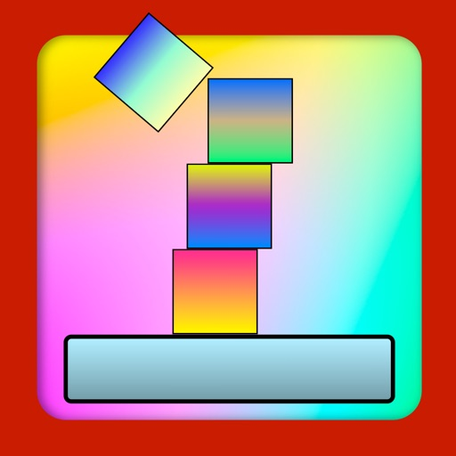Colored Skies - A stack the cube game - Free