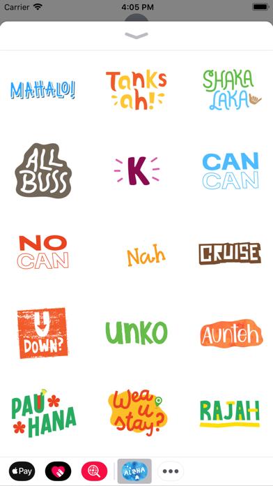 Aloha Sticker PackScreenshot of 3