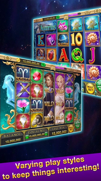 Zodiac Slots™ - FREE Las Vegas Casino Game screenshot-1