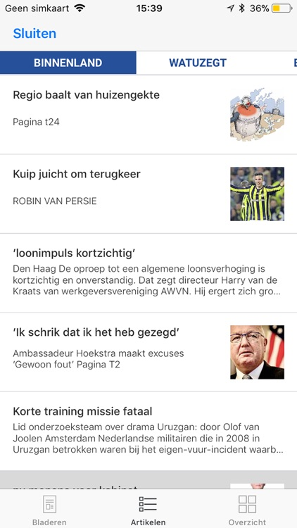 De Telegraaf Krant screenshot-4