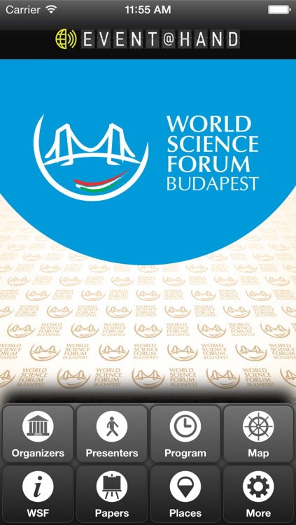 World Science Forum EVENT@HAND