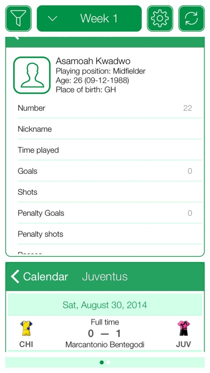 Italian Football Serie A 2016-2017 - Mobile Match Centre screenshot-3