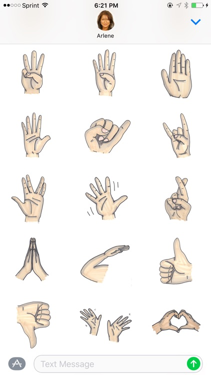 Hand Gestures - Beautifully drawn signs & signals