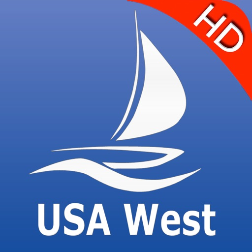 USA West Nautical Charts Pro