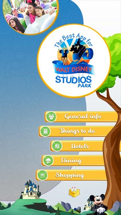 The Best App for Walt Disney Studios Park