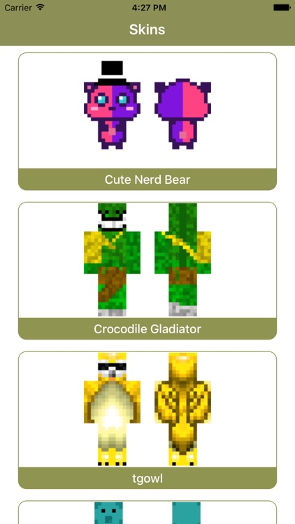 Animal Skins for Minecraft PE - Cape Skins MCPE screenshot-3