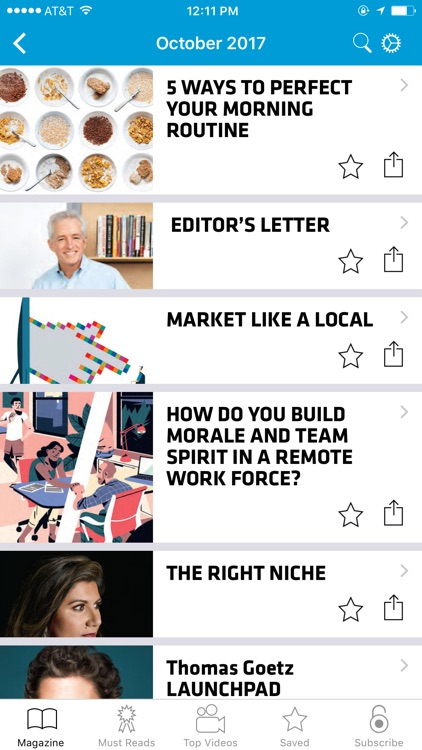 Inc. Must Reads and Magazine