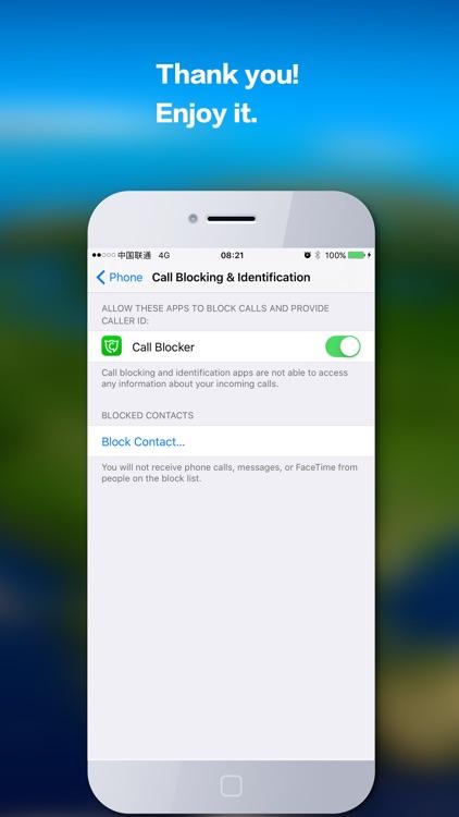 Call Blocker - Block unwelcome spam&robo calls screenshot-3