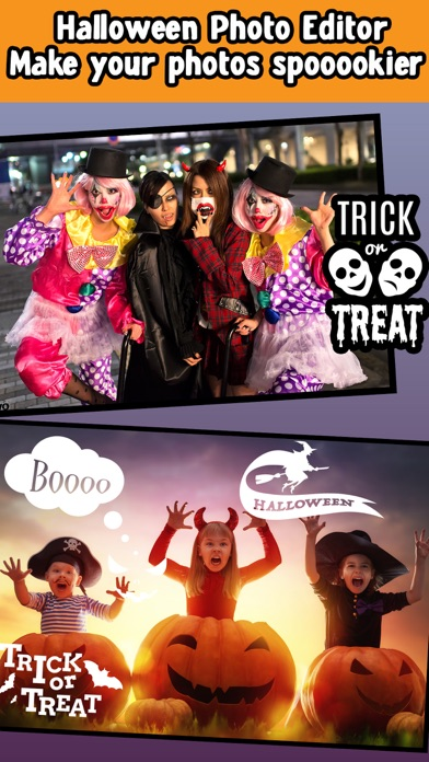 Halloween Photo Collage Editor