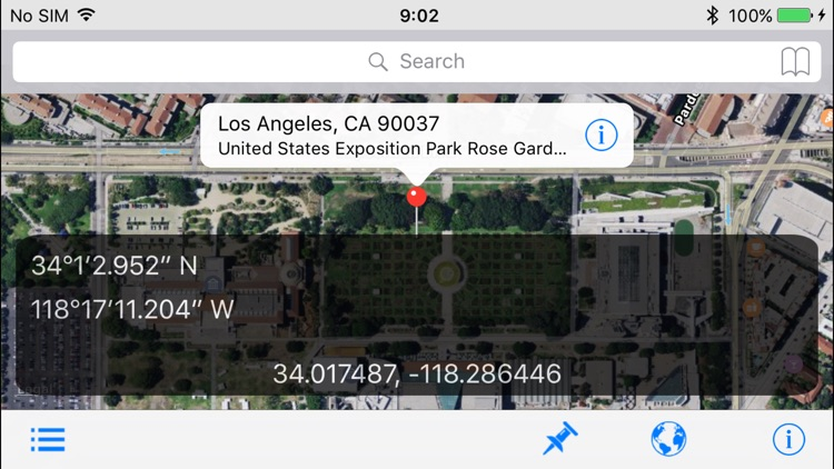 GeoPointer -Obtain position info from the address screenshot-4