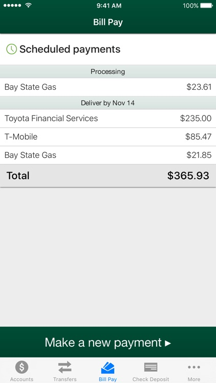 Tower Federal Credit Union Mobile App screenshot-4