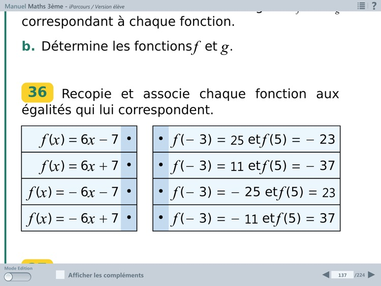 iParcours Maths 3e screenshot-3