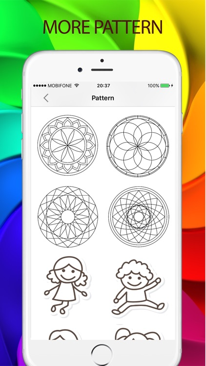Sketches Color: a relaxing coloring book for kids screenshot-4
