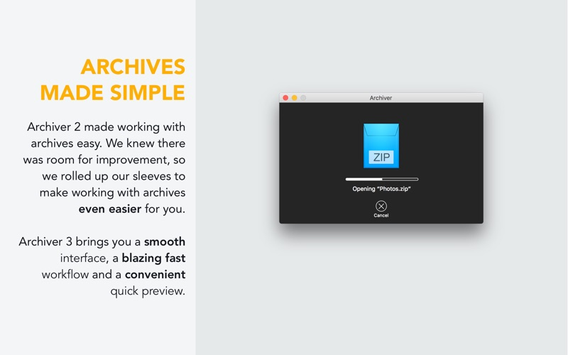 Archiver 3 for Mac