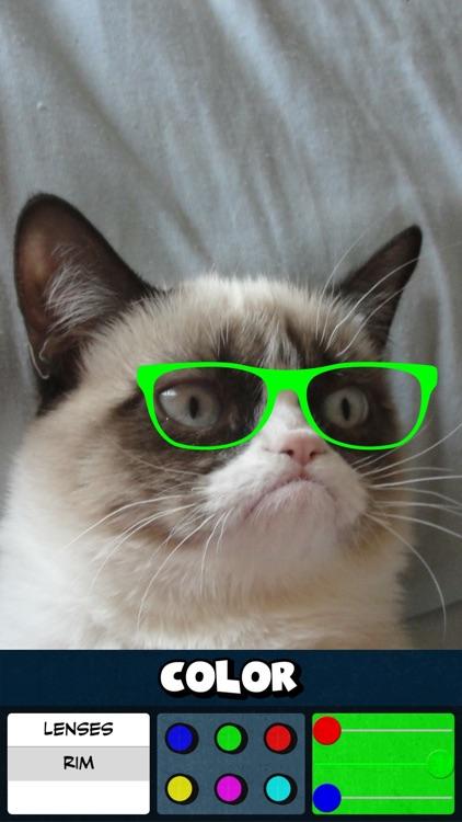 Glasses Color Stickers