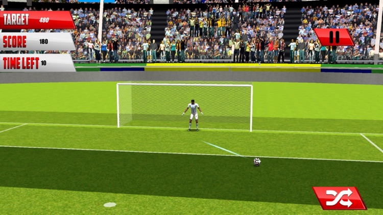 Football Fantasy Flick : Goal Shoot-out socc-er 3D