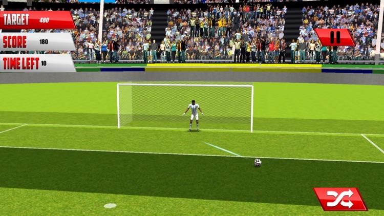 Football Fantasy Flick : Goal Shoot-out socc-er 3D