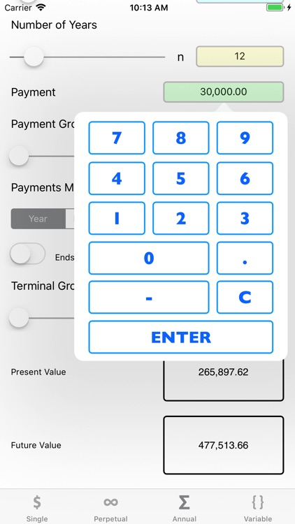 FinCalc TVM screenshot-4