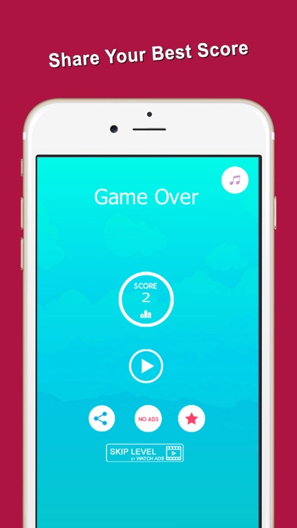 Spinning Circle Red Bouncing Balls Jump screenshot-3