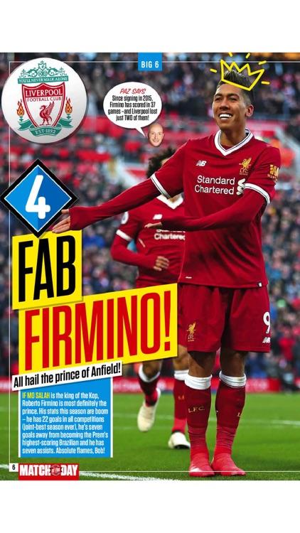 BBC Match of the Day magazine screenshot-5
