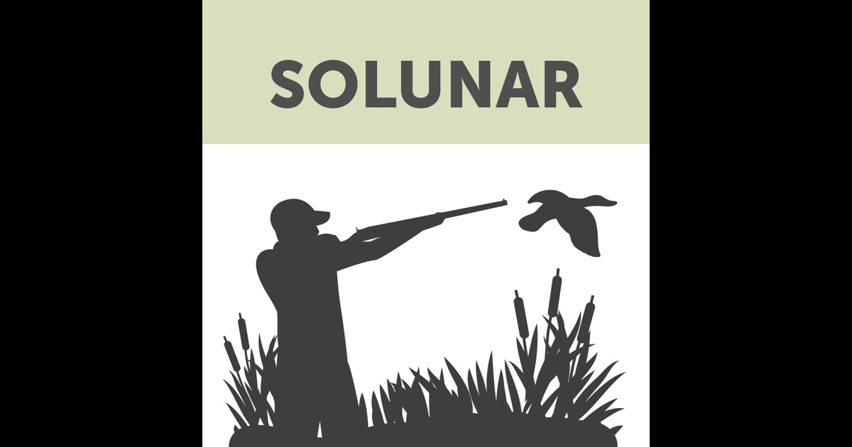 Solunar hunting fishing times on the app store for Lunar fishing times