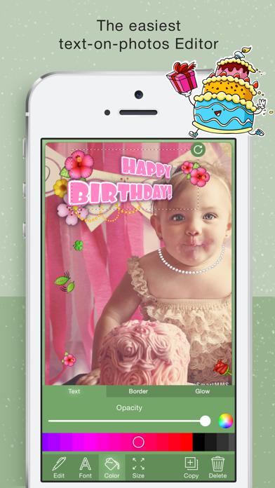 Happy BirthDay Cards Maker screenshot three