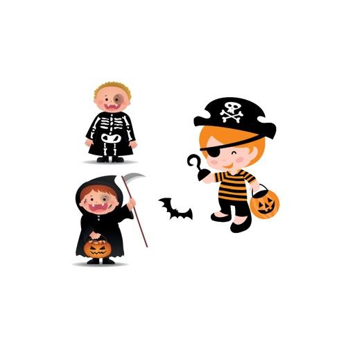 Halloween Character Emoji - Sticker