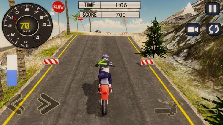 Mountain Motor-Cross Bike Sim screenshot-3