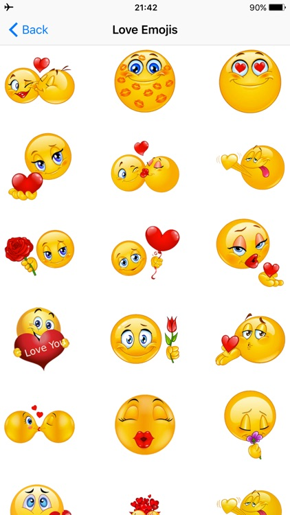 Flirty Emoji Adult Icons Dirty Emoticons for Text screenshot-3