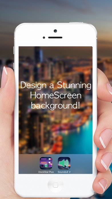 DockStar Pro Plus - Design Home Screen Themes & Wallpapers - Themeable Designs screenshot