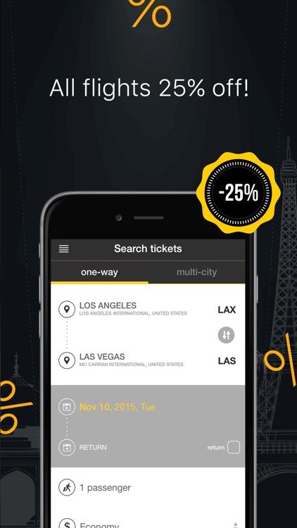 Great Flight Deals, Cheap Flights & Best Airfare screenshot-4