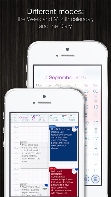 BossNote: Calendar, Notepad and Organizer