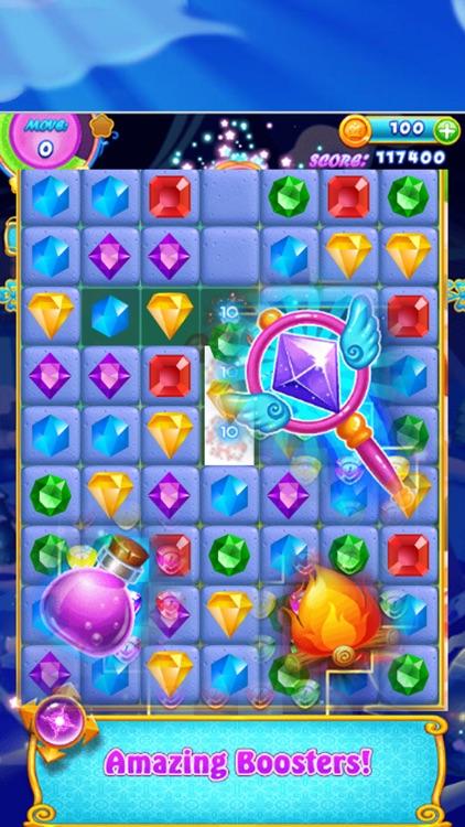 Diamond Smash - Connect 3 Diamon Bomb