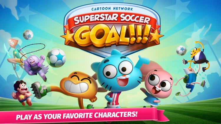 Cartoon Network Superstar Soccer: Goal!!! – Multiplayer Sports Game Starring Your Favorite Characters screenshot-0