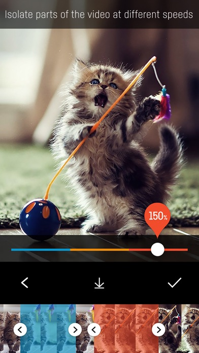 Slo Mo: Slow Motion, Speed Control Video Clip Edit Screenshot on iOS